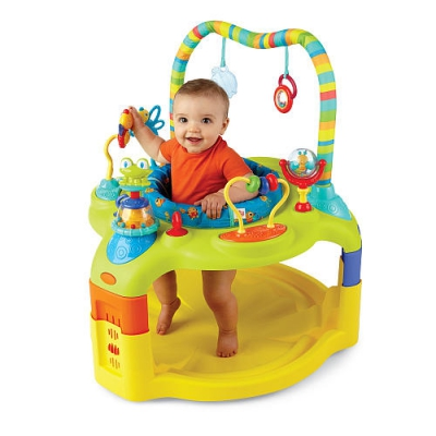 Exersaucer with Toys