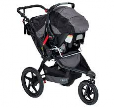BOB stroller w/car seat attachment