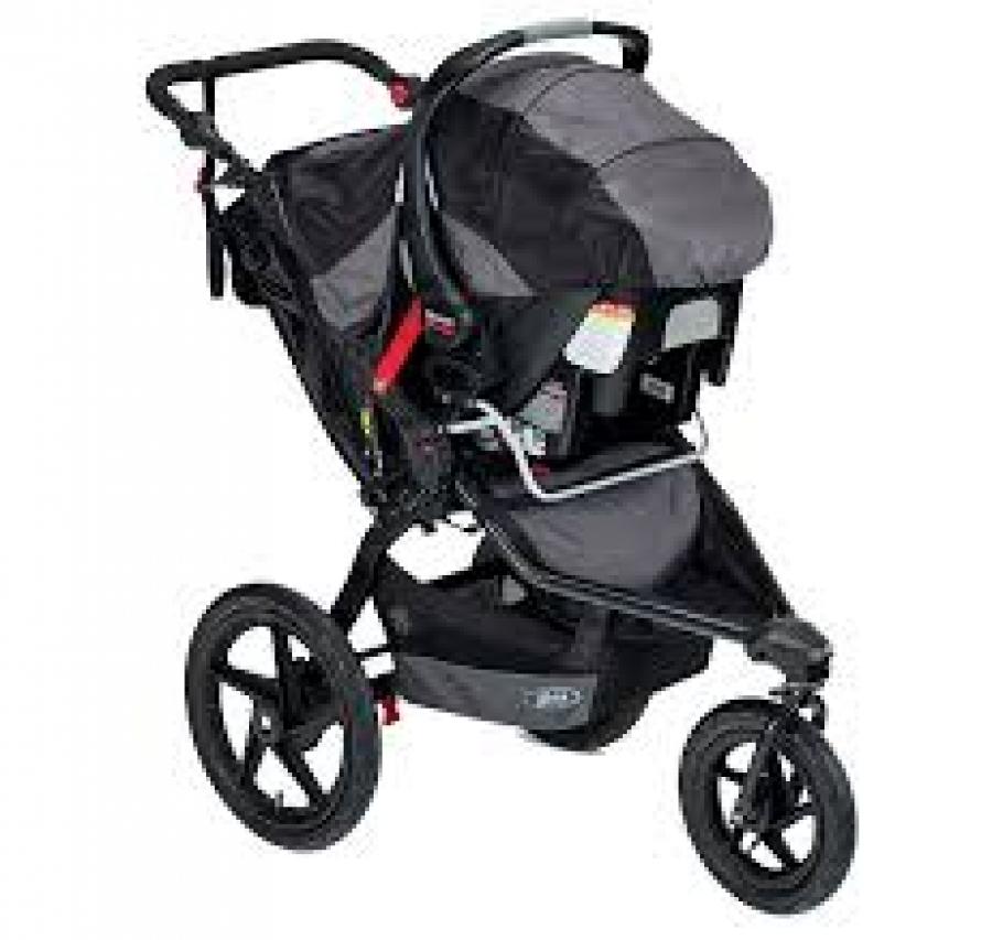 BOB stroller w/car seat attachment