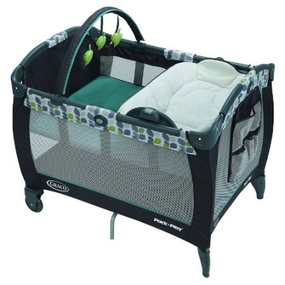 Pack-n-play w/changer bassinet